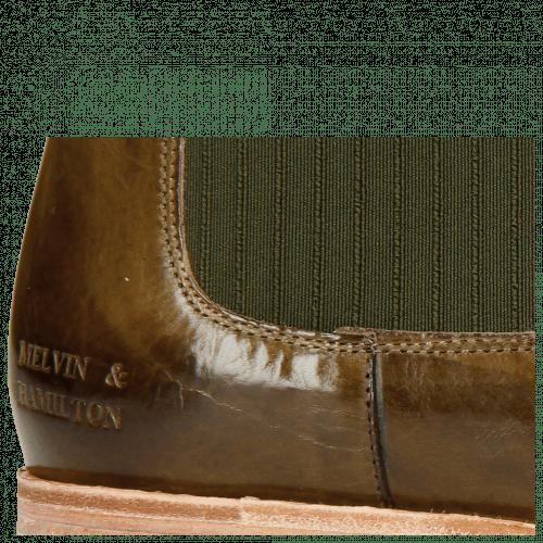 Ankle boots Amelie 77 Olive Dark Finishing