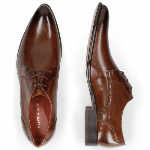 Derby shoes Toni 1 Wood Lining Red