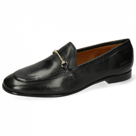 Loafers Scarlett 22 Pisa Black Trim Gold