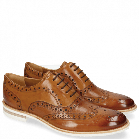 Oxford shoes Clint 23 Pavia Tan Insole Flex
