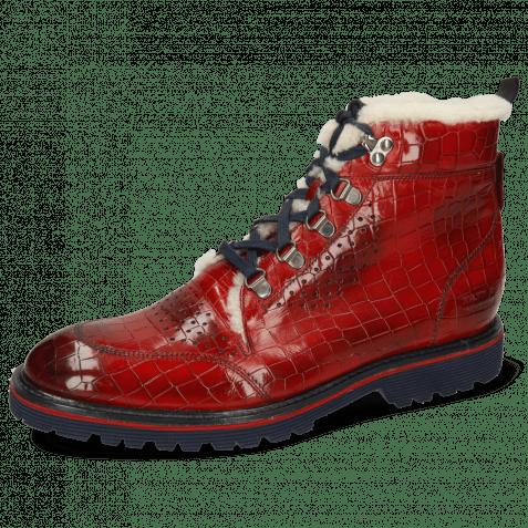 Ankle boots Trevor 5 Crock Ruby Sherling Beige