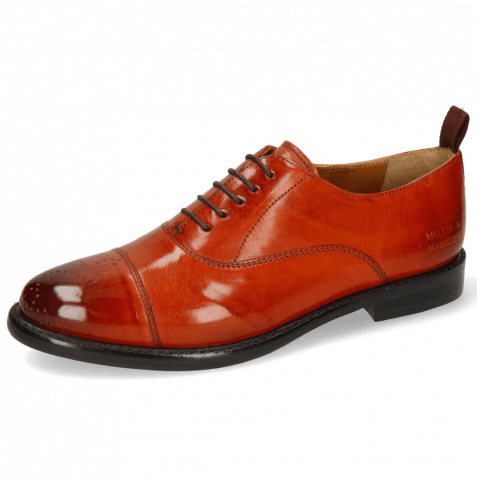 Oxford shoes Selina 26 Winter Orange Lining