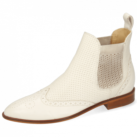 Ankle boots Jessy 4  Nappa Glove Perfo Cream