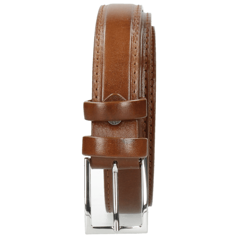 Belts Linda 1 Mid Brown Classic Buckle
