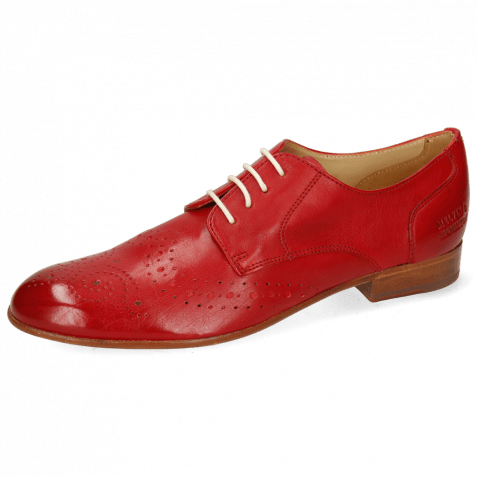 Derby shoes Sally 131 Imola Red