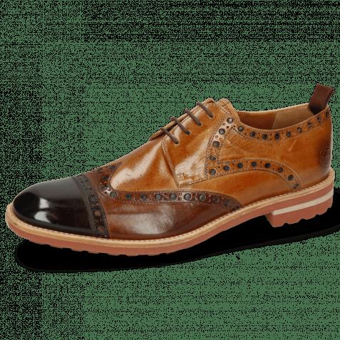 Derby shoes Eddy 48 Mogano Wood Sand