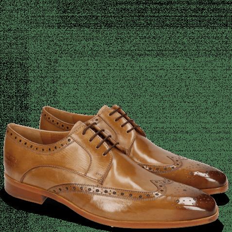 Derby shoes Lewis 3 Cashmere Lining Rich Tan