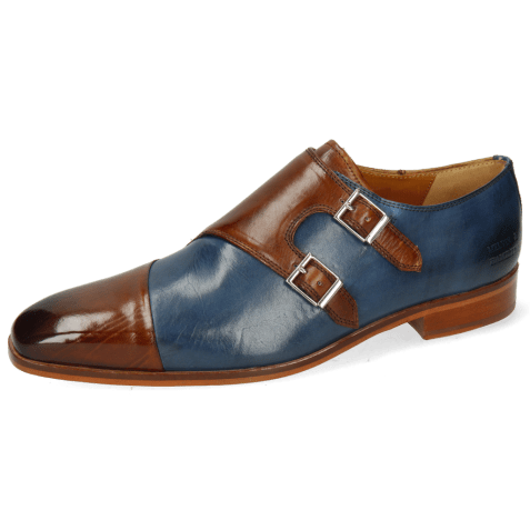 Monks Lance 34 Wood Mock Navy