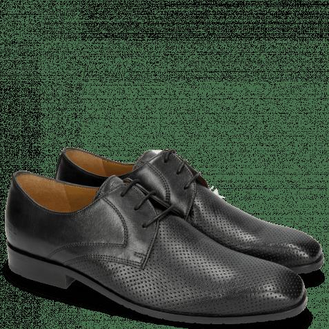 Derby shoes Rico 1 Rio Perfo Black