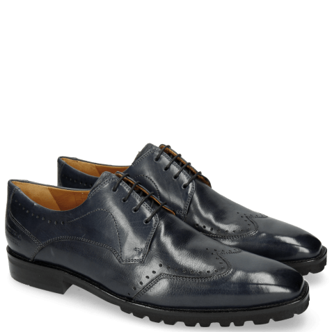 Derby shoes Emil 3 Carmen Navy Lining Foam