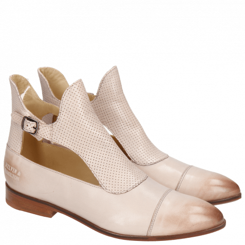Ankle boots Jessy 21 Salerno Perfo Pale Rose