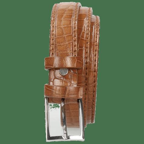 Belts Linda 1 Crock Tan Classic Buckle