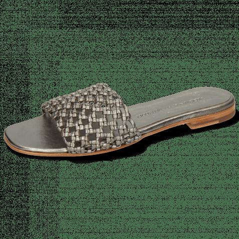 Mules Elodie 32 Mignon Steel Footbed