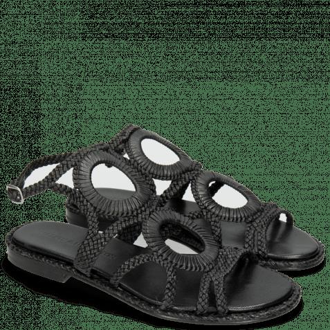 Sandals Sandra 44 Mignon Black