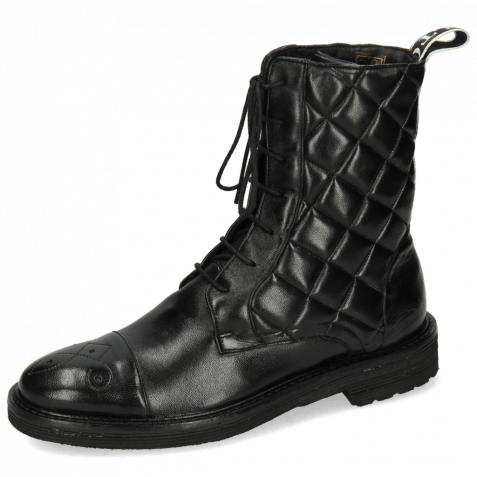 Boots Amelie 90 French Nappa Black