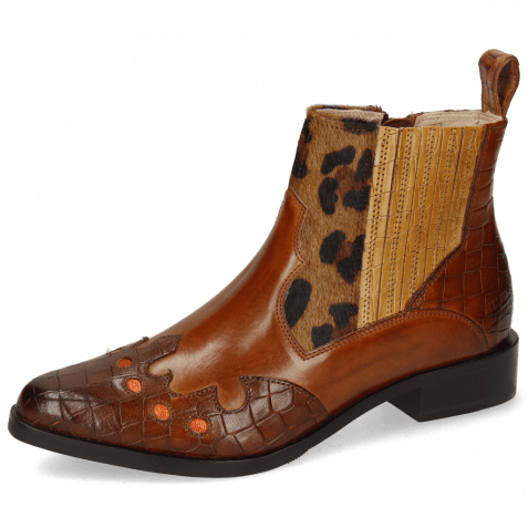 Ankle boots Marlin 25 Crock Mid Brown Tan Hairon Tanzania Sand