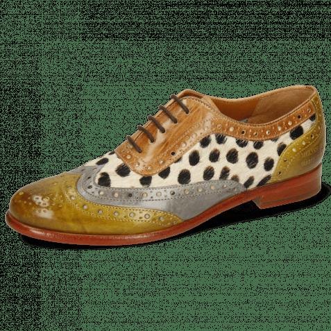 Oxford shoes Selina 56 Vegas Olivine Digital Sand Hairon Wildcat