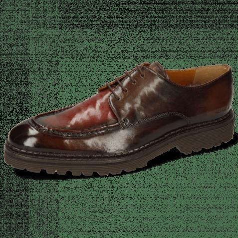 Derby shoes Patrick 29 Imola Chestnut Plum Shade Finish
