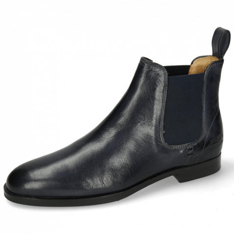 Ankle boots Susan 10 Venice Navy Elastic Rich Navy