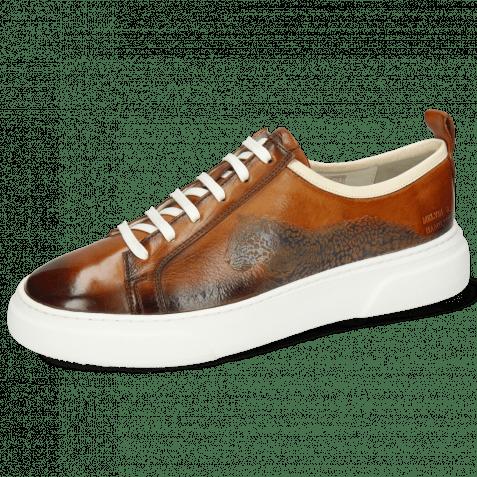 Sneakers Harvey 21 Monza Tan Leopard