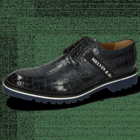 Derby shoes Eddy 25R Crock Marine Strap