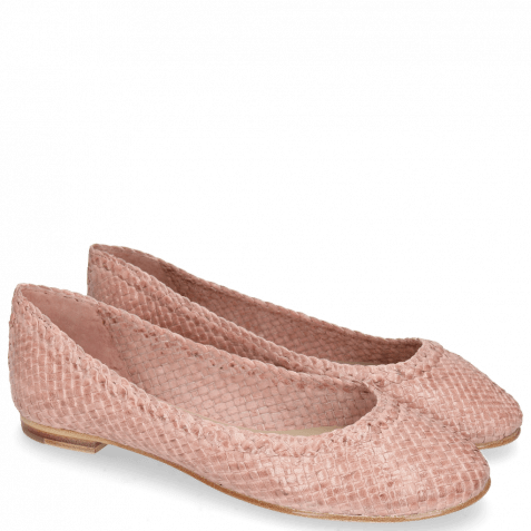 Ballet Pumps Kate 5 Woven Rose