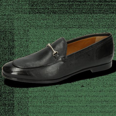 Loafers Scarlett 22 Pisa Black Trim Gold Lining