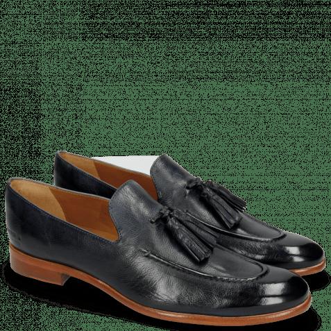 Loafers Clint 6 Pavia Navy Tassel Navy
