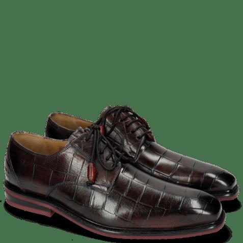 Derby shoes Marvin 19 Turtle Dark Black