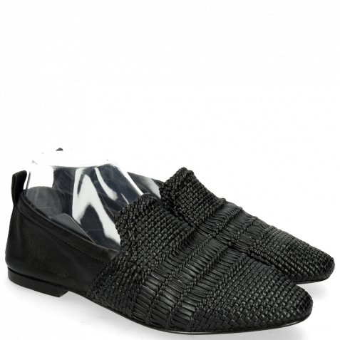 Loafers Hailey 1 Mignon Black Glove Nappa
