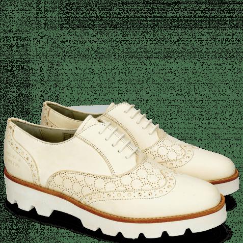 Oxford shoes Selina 24 Vegas Perfo White