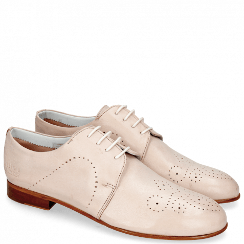Derby shoes Sally 1 Glove Nappa Rose