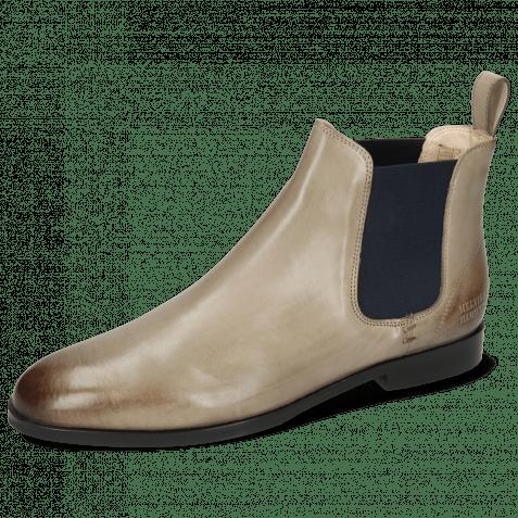 Ankle boots Susan 10 Digital Elastic Navy