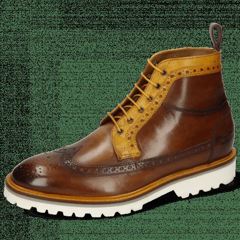 Ankle boots Matthew 9 Dark Chocolate Sun Textile