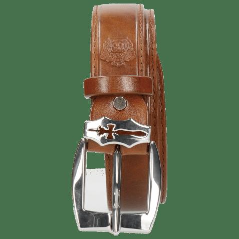 Belts Larry 1 Tan Sword Buckle