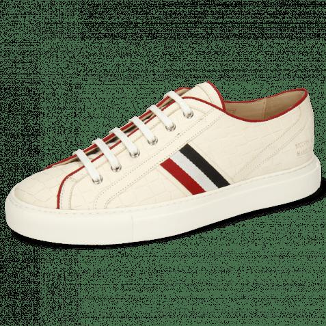 Sneakers Harvey 34 Vegas Crock White Topline Binding Nylon