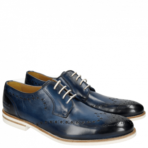 Derby shoes Scott 7 Washed Navy