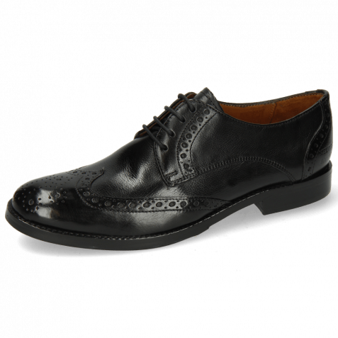 Derby shoes Amelie 3 Pisa Black Lining Nappa