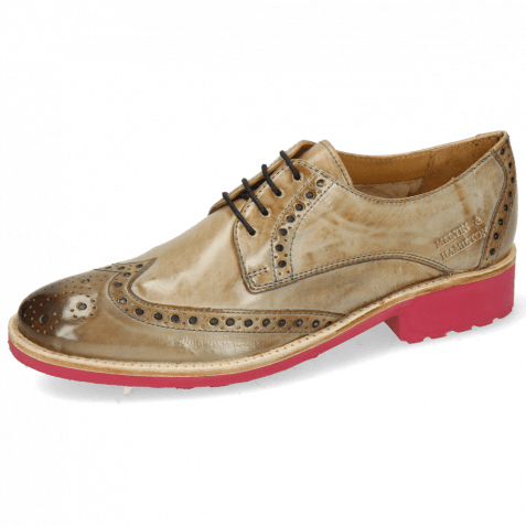 Derby shoes Amelie 3 Crust New Sand