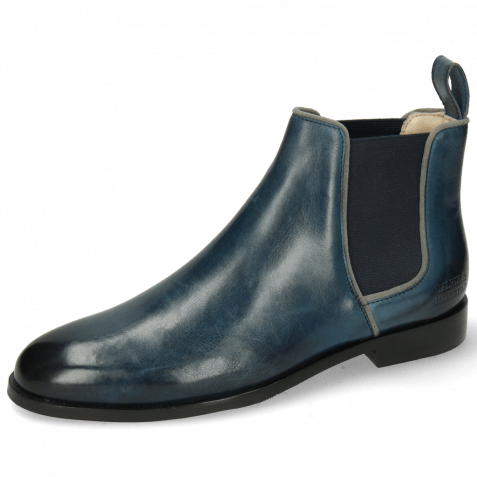 Ankle boots Susan 70 Ice Lake Grey Navy