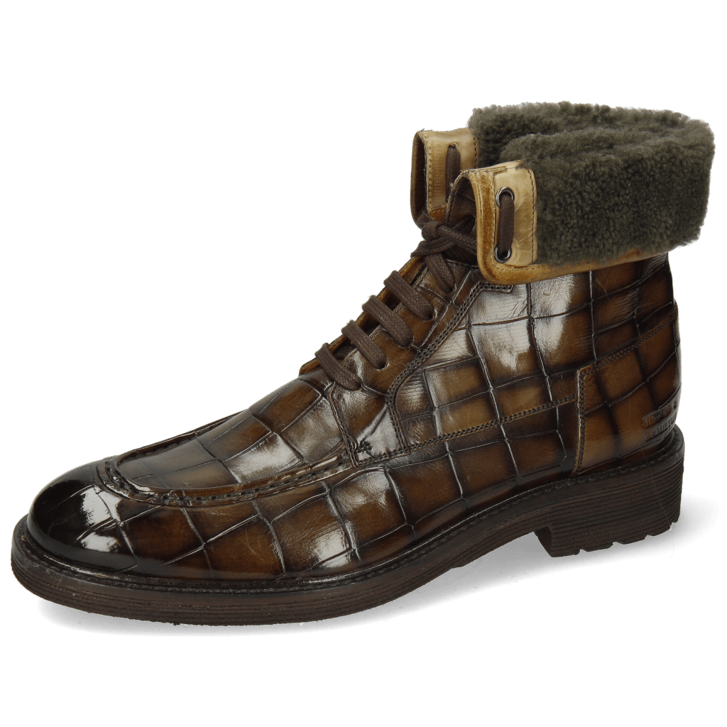 Ankle boots Trevor 31 Turtle Olive Shade Espresso