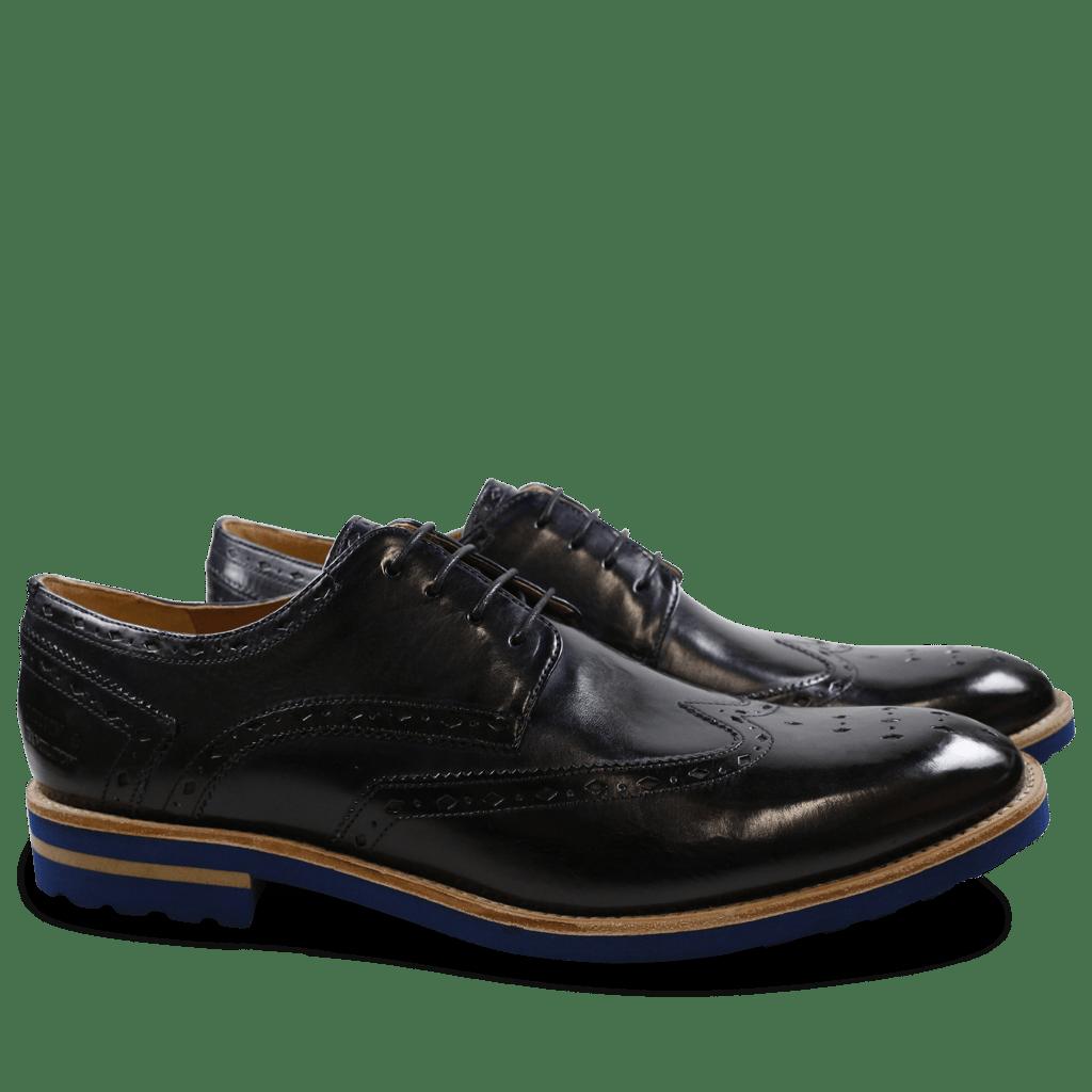 Derby shoes Eddy 5 Crust Navy Aspen Blue