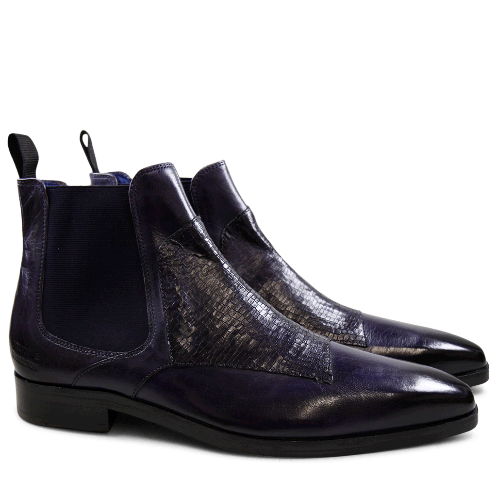 Ankle boots Lewis 35 Skink Melanzana Elastic Purple Flame