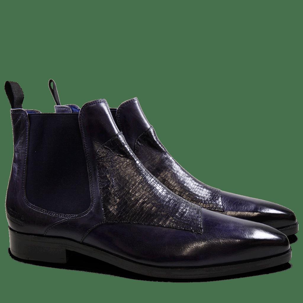Ankle boots Lewis 35 Skink Melanzana Elastic Purple Flame