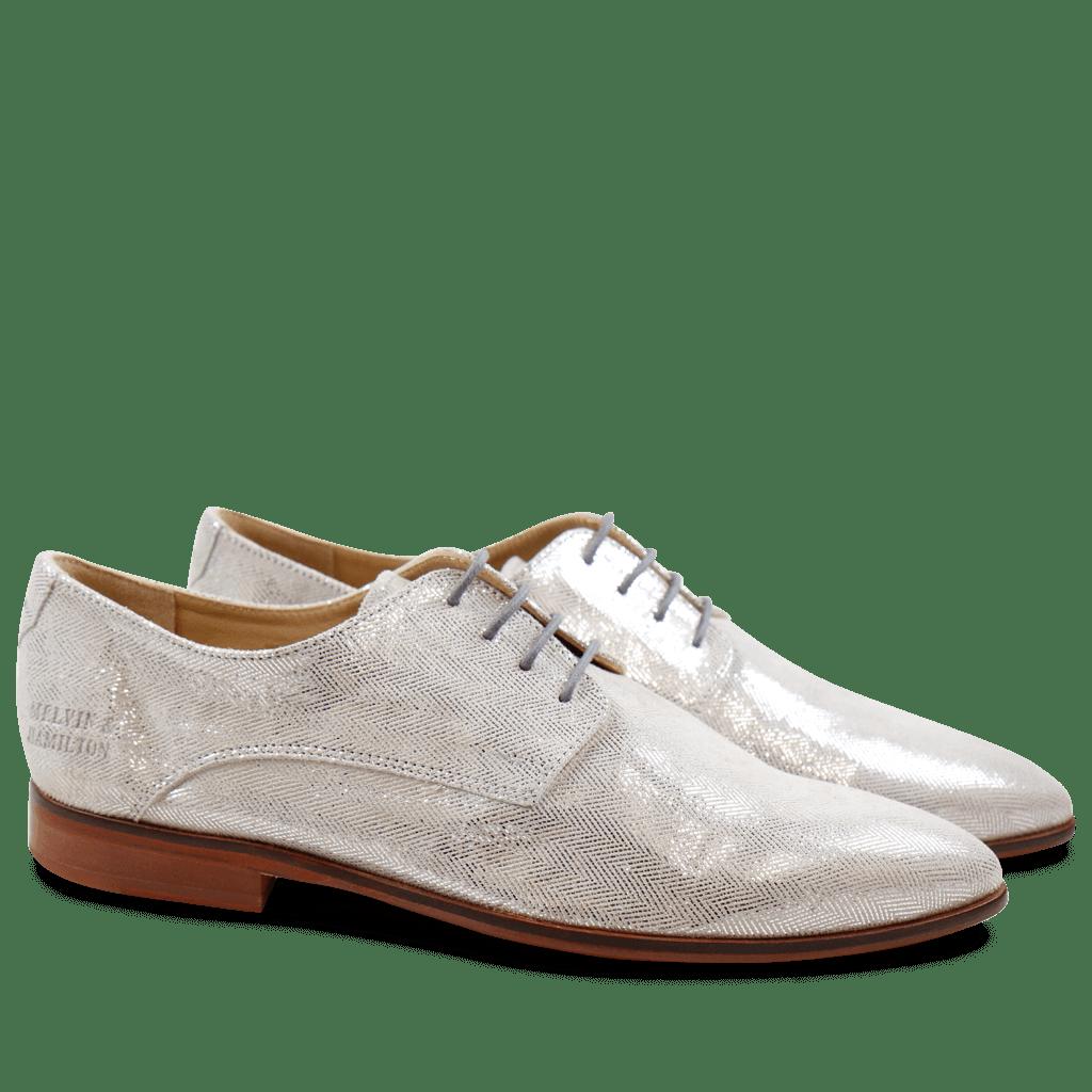 Derby shoes Jessy 5 Lisbon Silver LS Natural