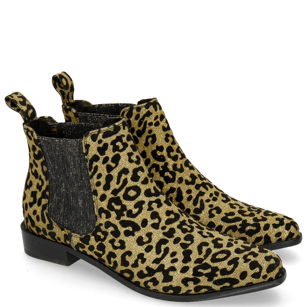 Ankle boots Marlin 4 Leo Glitter Gold