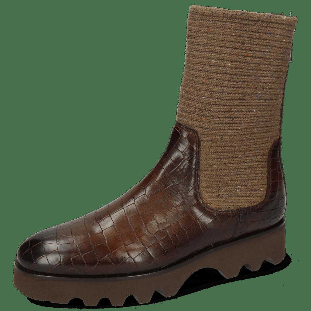 Boots Susan 69 Vegas Crock Dark Chocolate