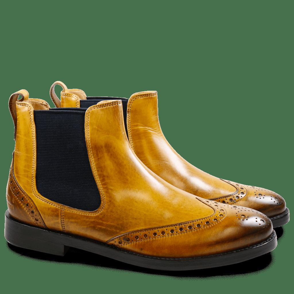 Ankle boots Amelie 5 Crust Sun Elastic Navy LS
