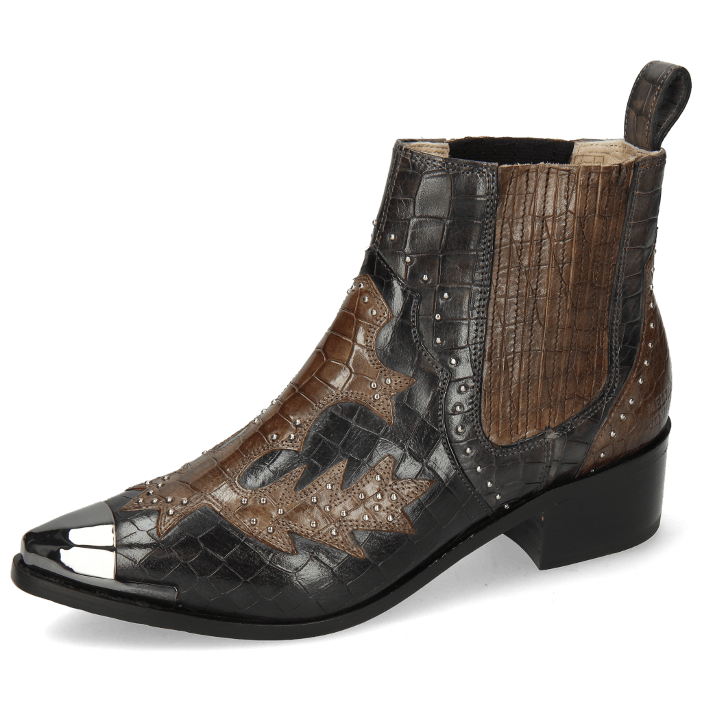 Ankle boots May 5 Crock London Fog Stone Rivets