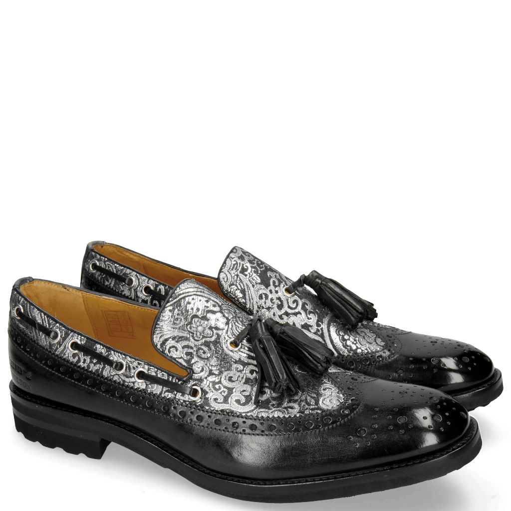 Loafers Eddy 16 Textile Glory London Fog Carbon